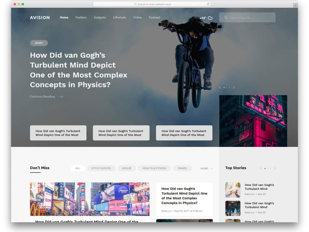 27 Free Entertainment Website Templates To Give Immersive Experience
