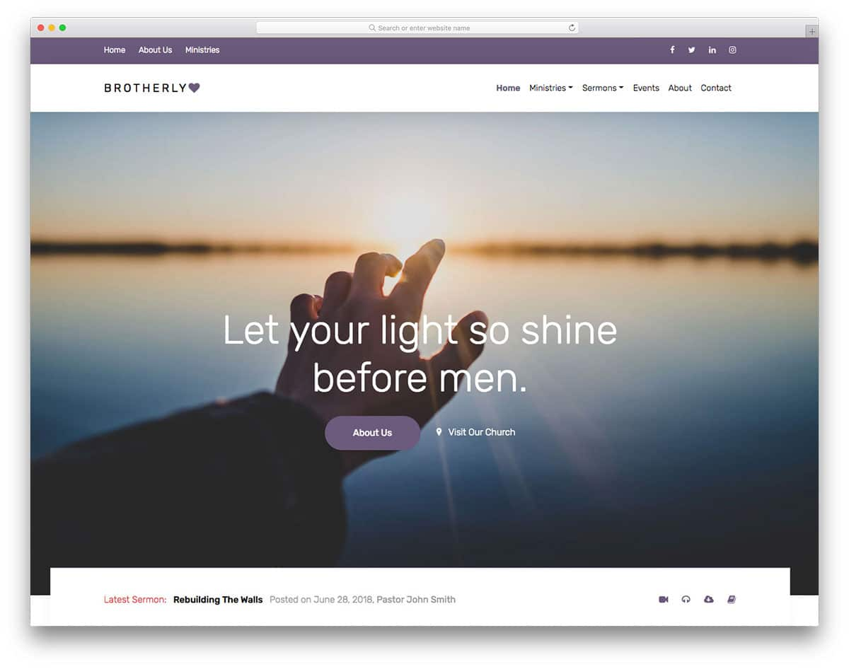 brotherlylove-free-responsive-html5-website-templates