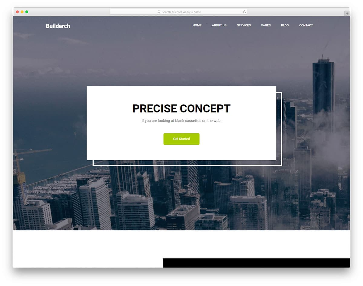 buildarch-free-industrial-website-templates