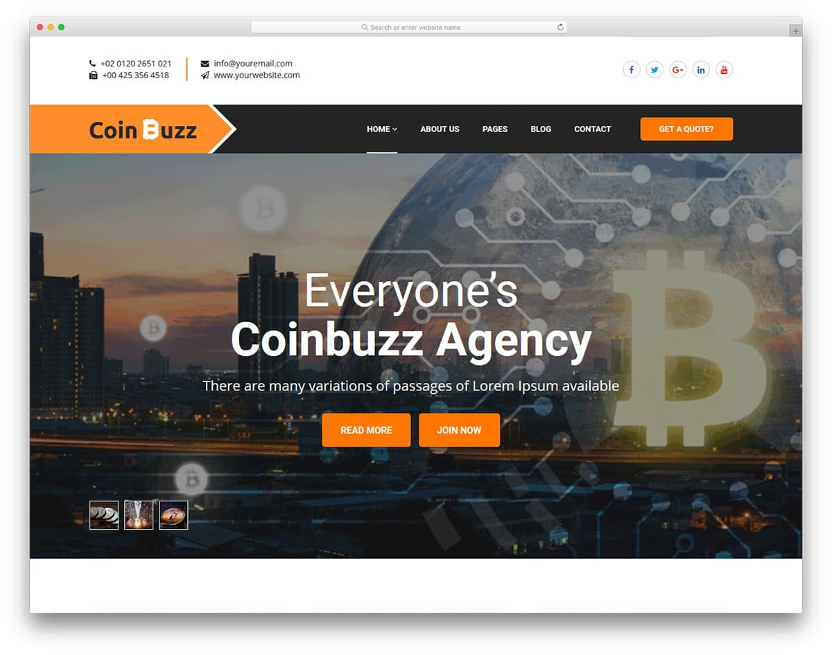 coinbuzz-free-boutique-website-templates