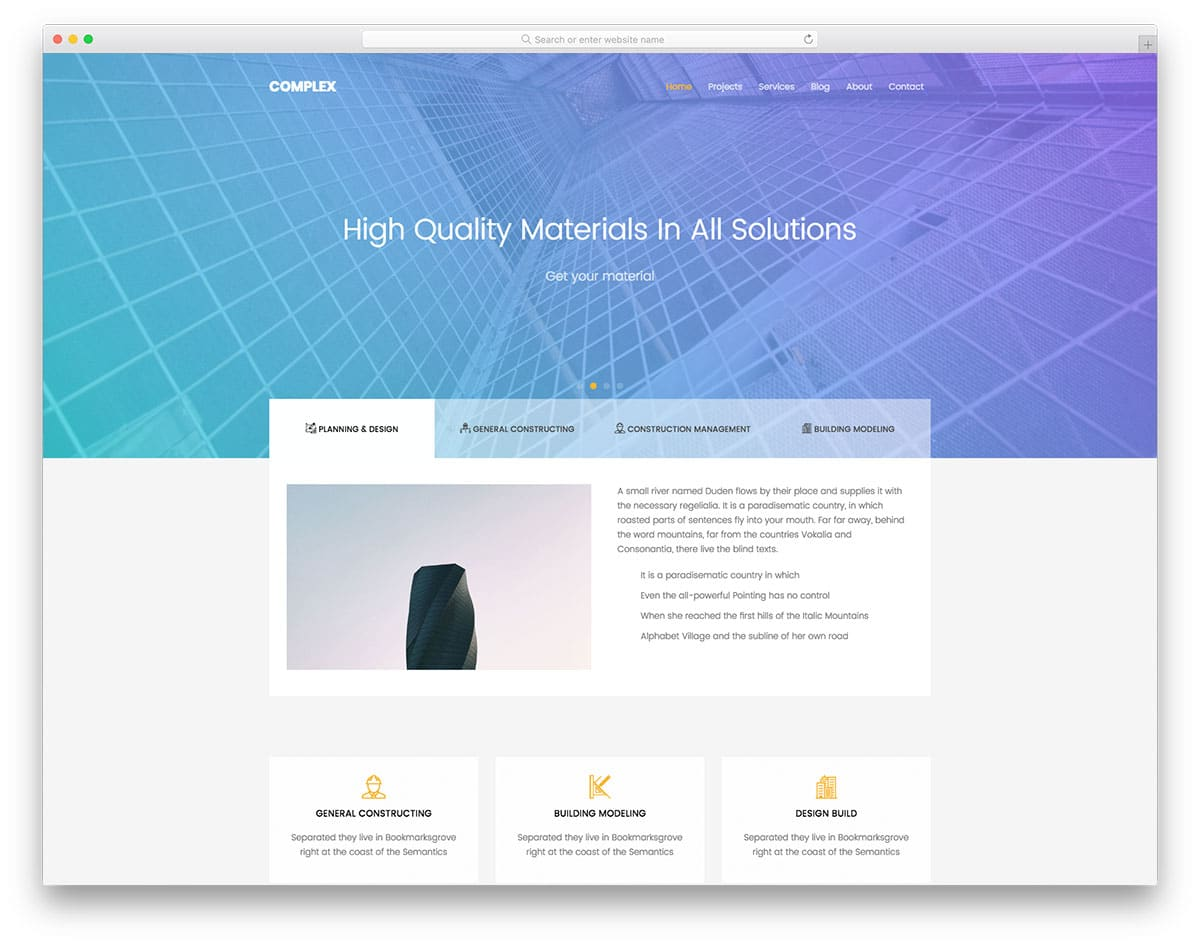 complex-free-industrial-website-templates