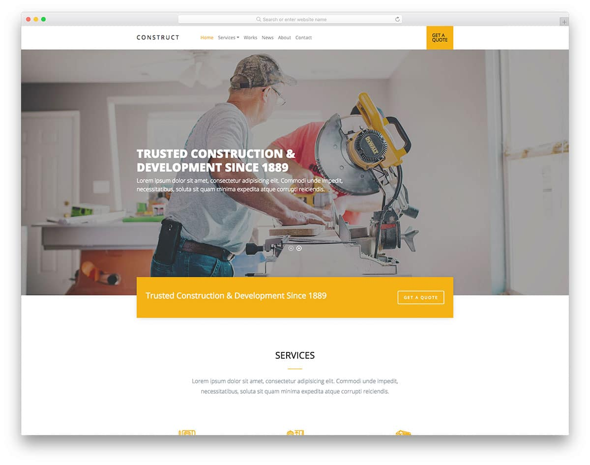 construct-free-industrial-website-templates