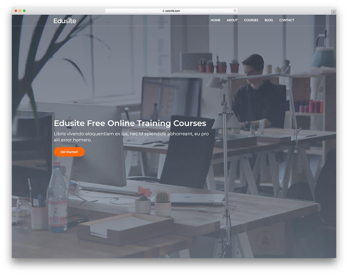 edusite-free-bootstrap-college-templates
