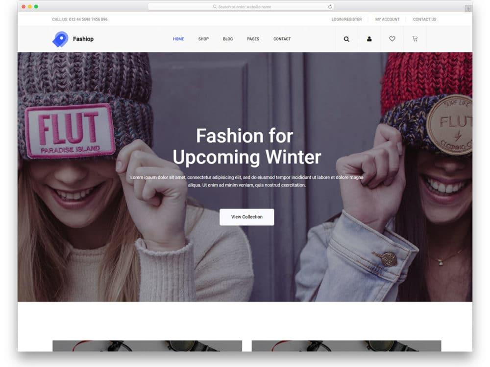 fashiop-free-boutique-website-templates