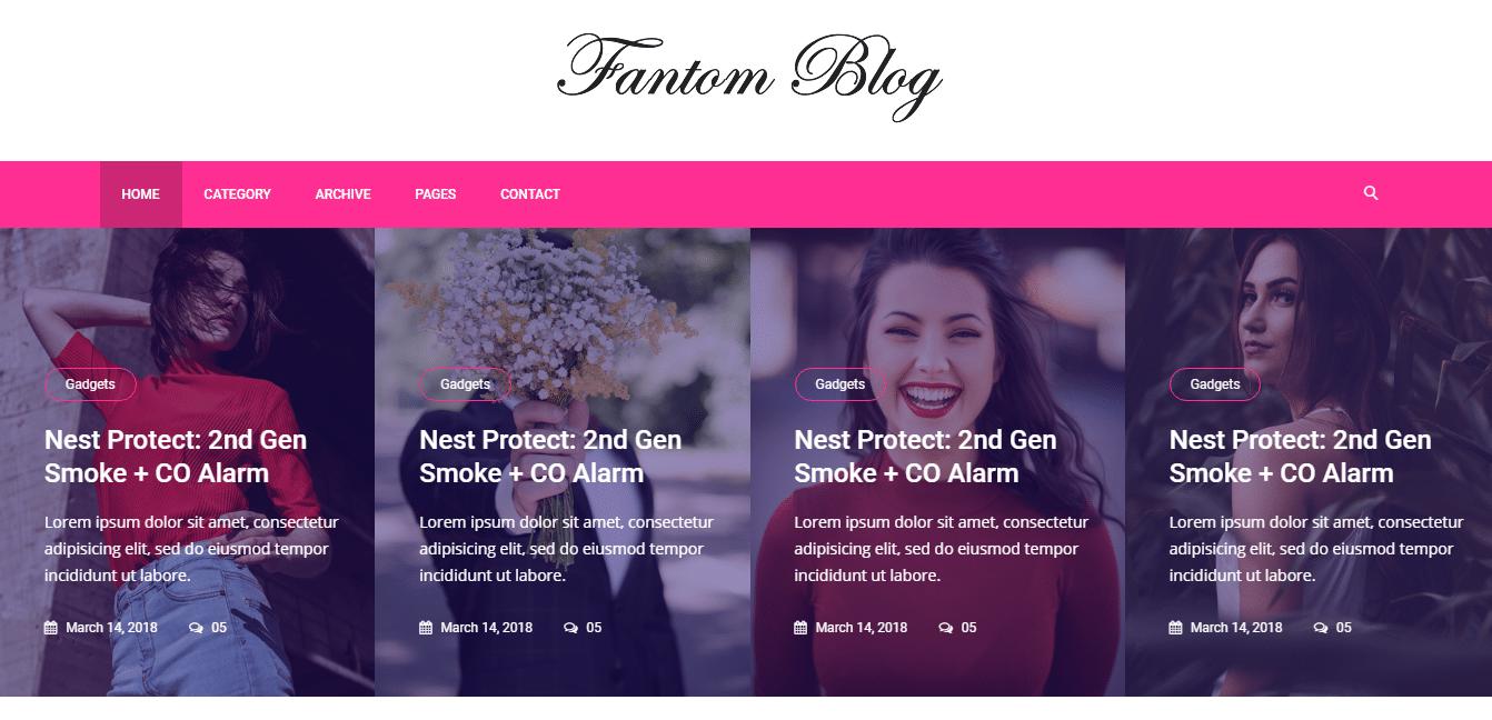 free-beautiful-website-template-fantom