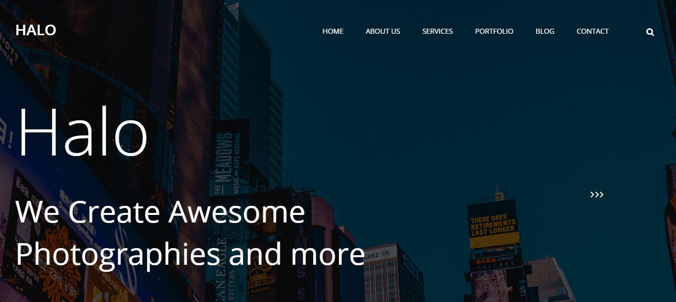 free-beautiful-website-template-halo