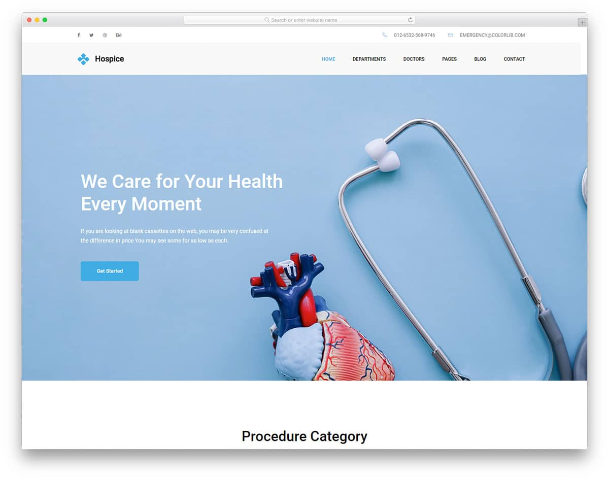 hospice-free-doctor-website-templates