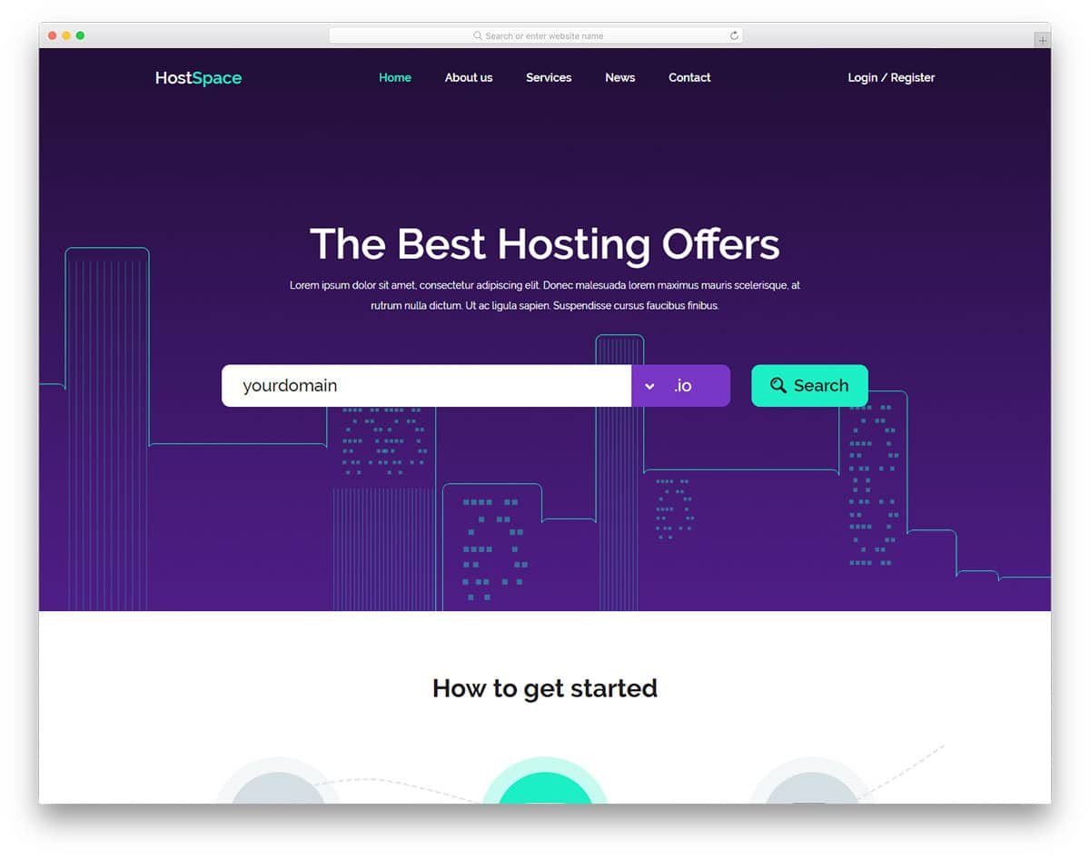 hostspace-free-bank-website-templates