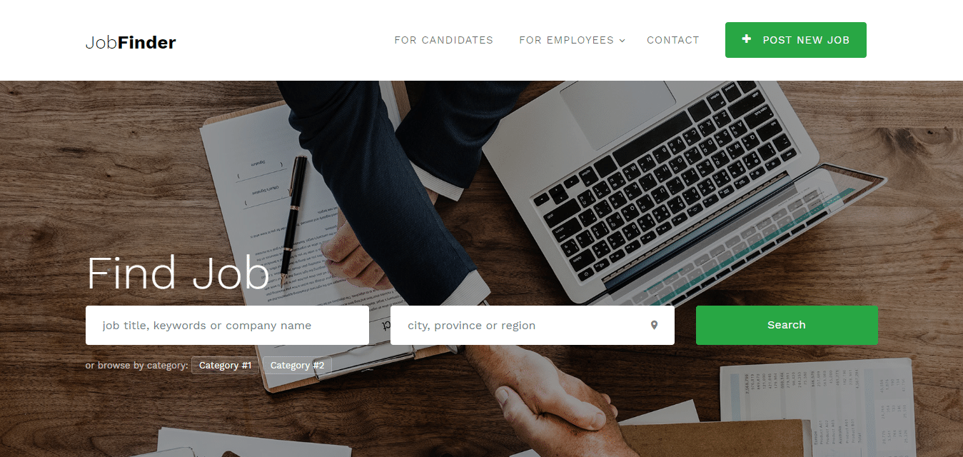 job-finder-classified-ad-website-template