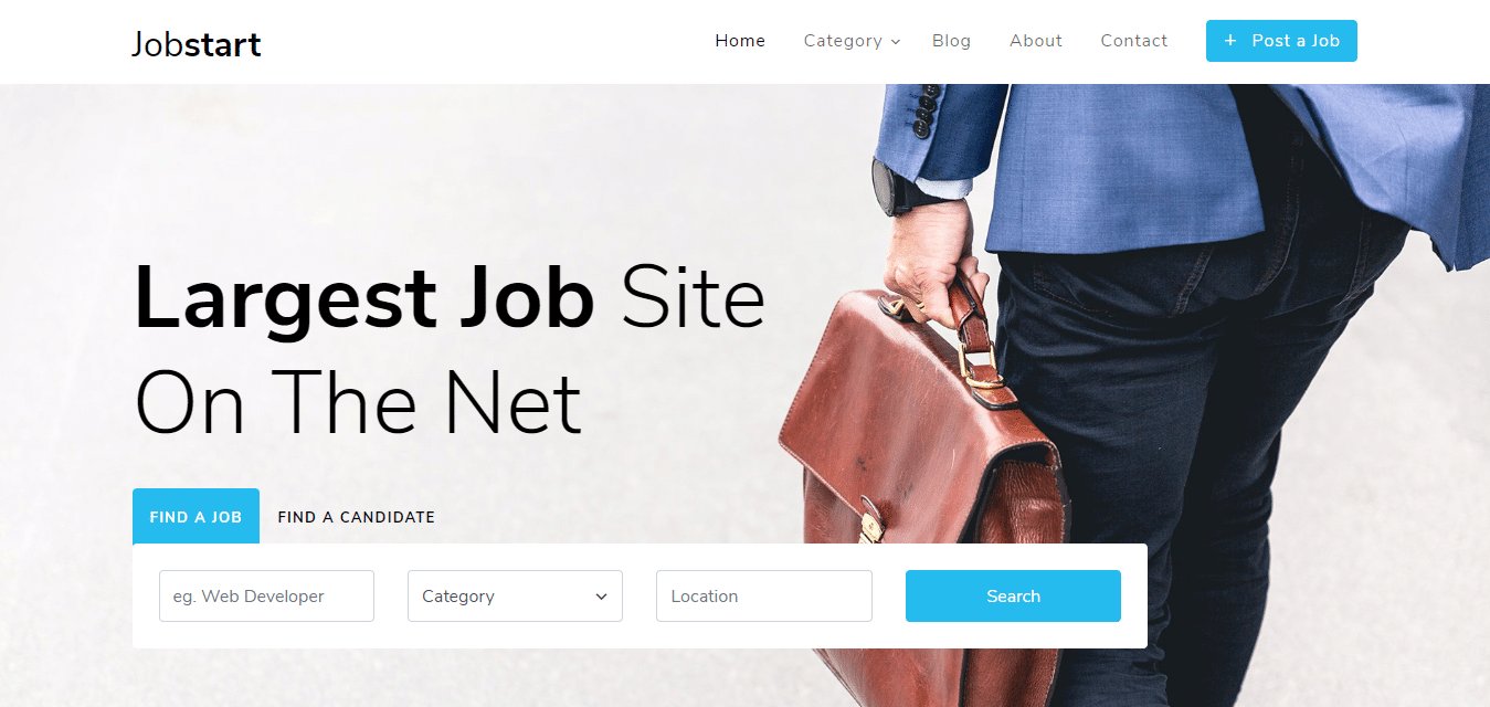 job-start-classified-ad-website-template