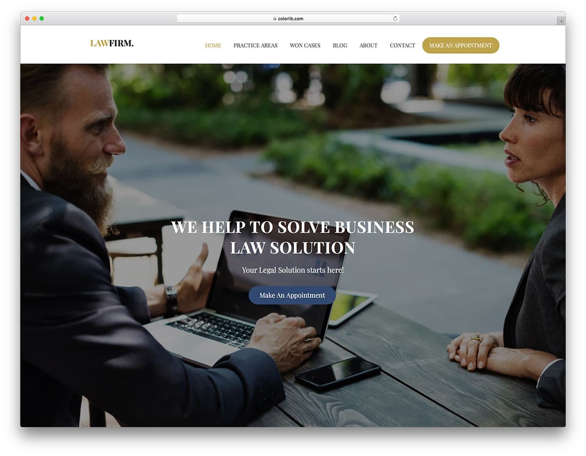 lawfirm-free-bank-website-templates
