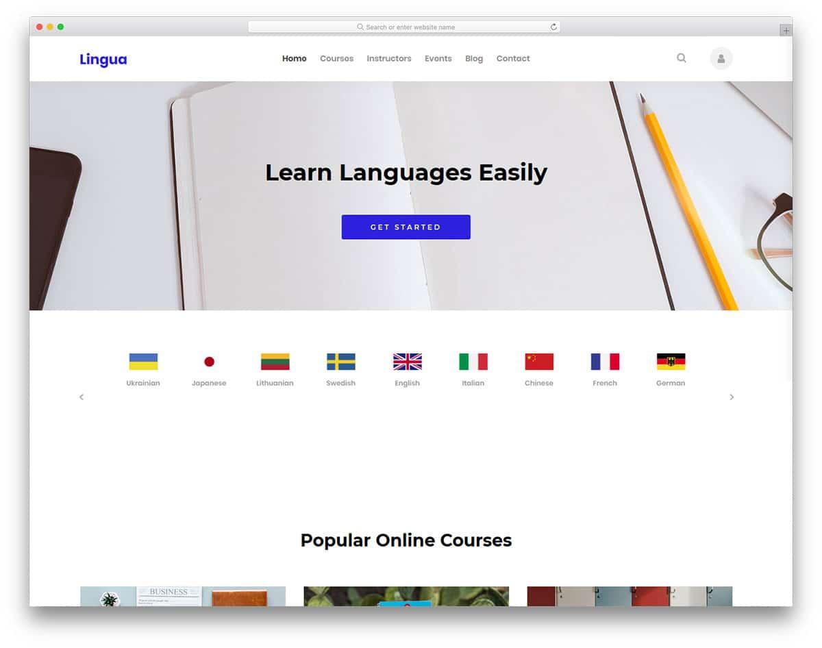 lingua-free-bootstrap-college-templates