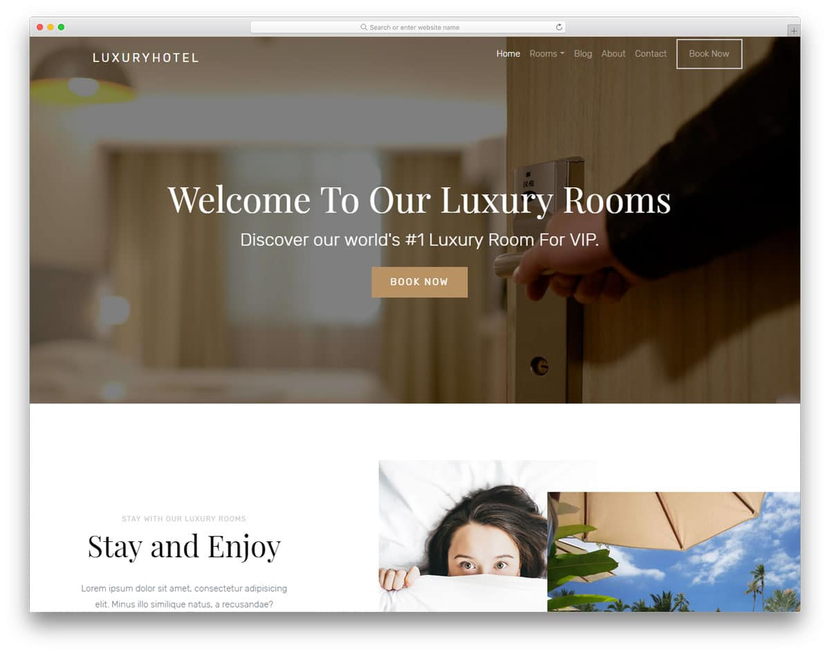 luxuryhotel-free-bootstrap-hotel-templates