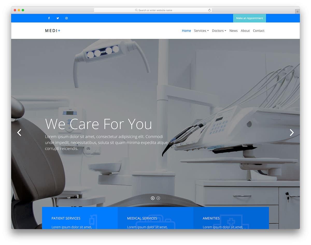 medi-plus-free-healthcare-website-templates