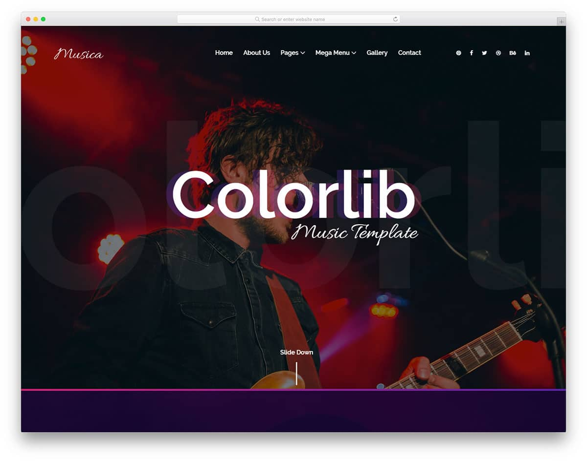 musica-free-entertainment-website-templates