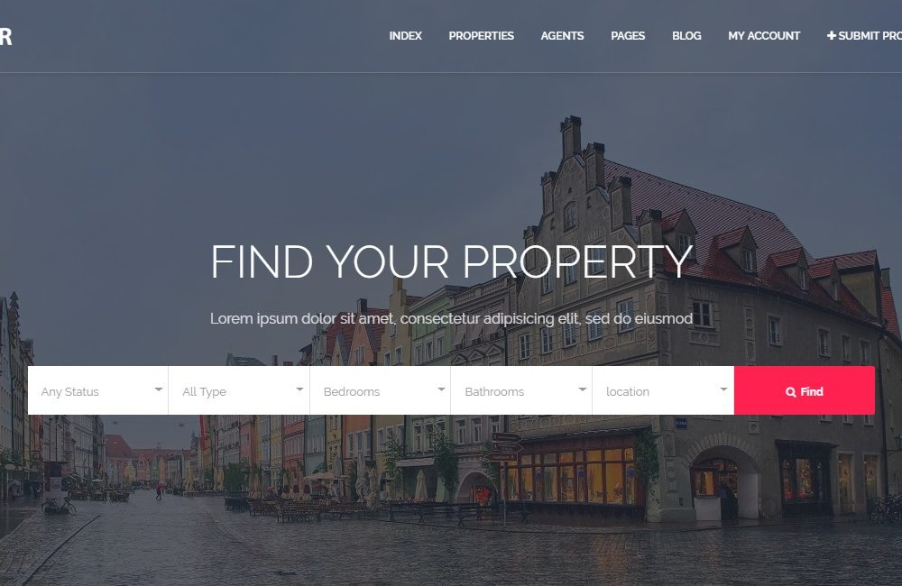 24 Premium Real Estate Website Templates For Brokers Agent And