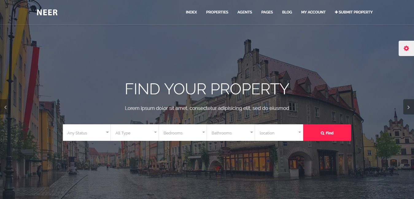 24 Premium Real Estate Website Templates for Brokers, Agent and