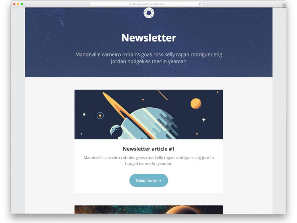 24 Ready To Use Free Responsive Email Templates 2019 Uicookies