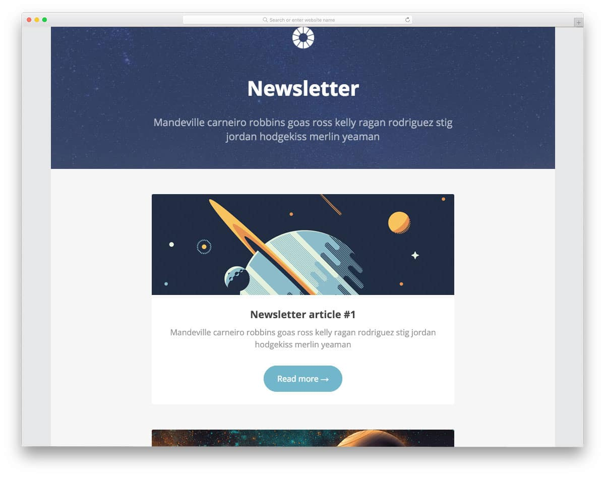 26 Ready To Use Free Responsive Email Templates 2019 Uicookies