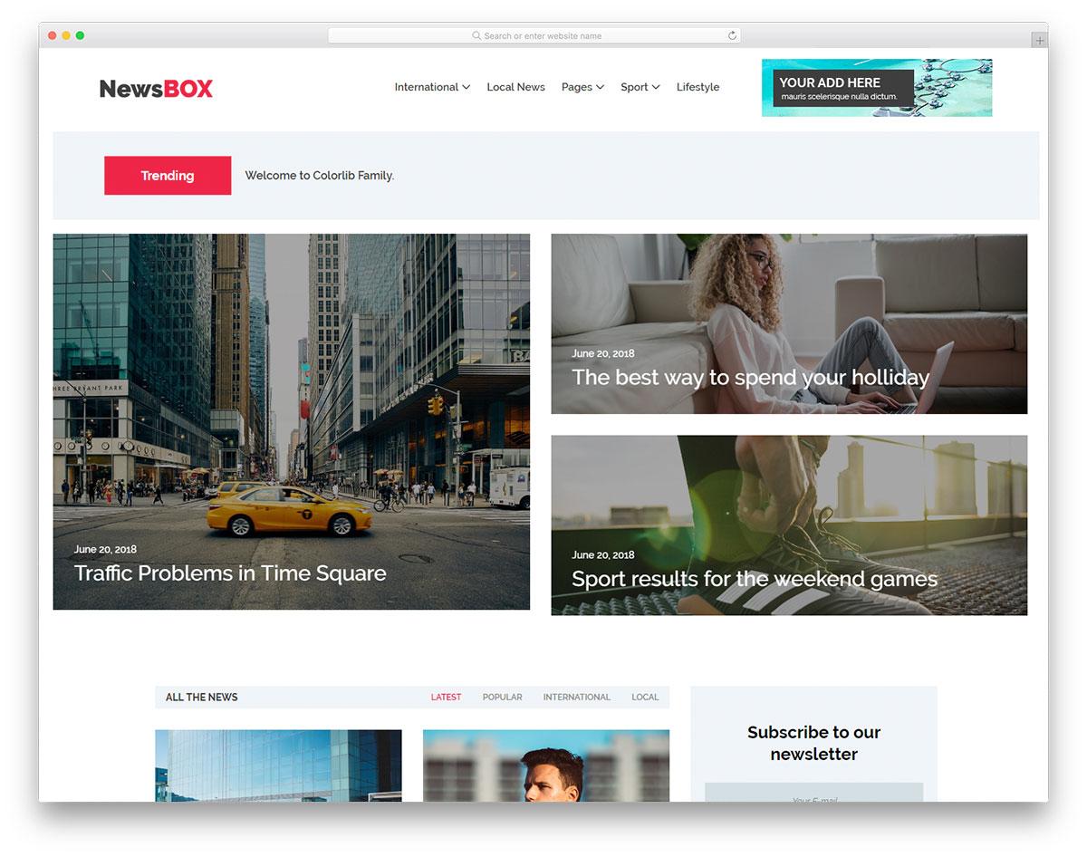 newsbox-free-responsive-html5-website-templates