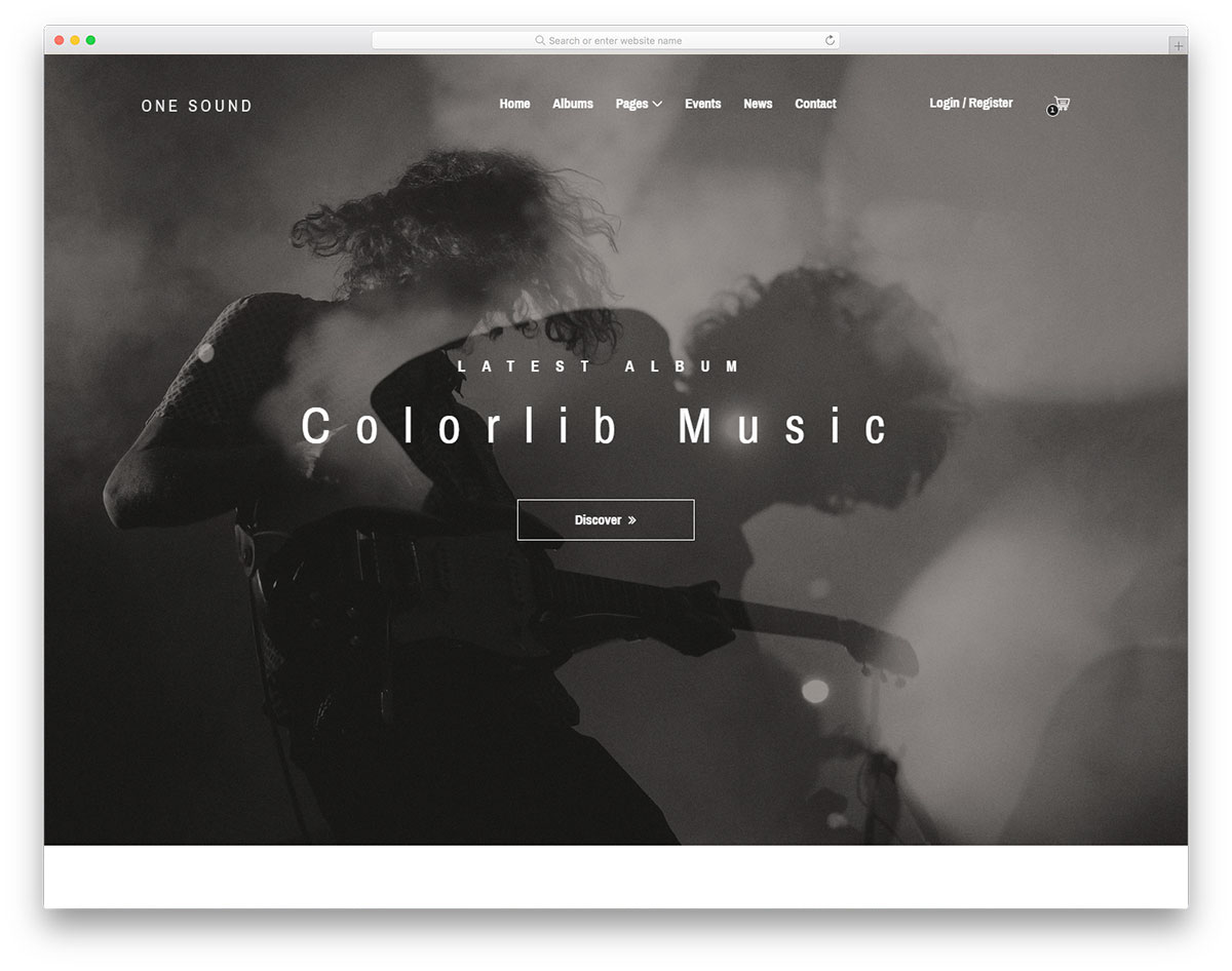 one-music-free-entertainment-website-templates