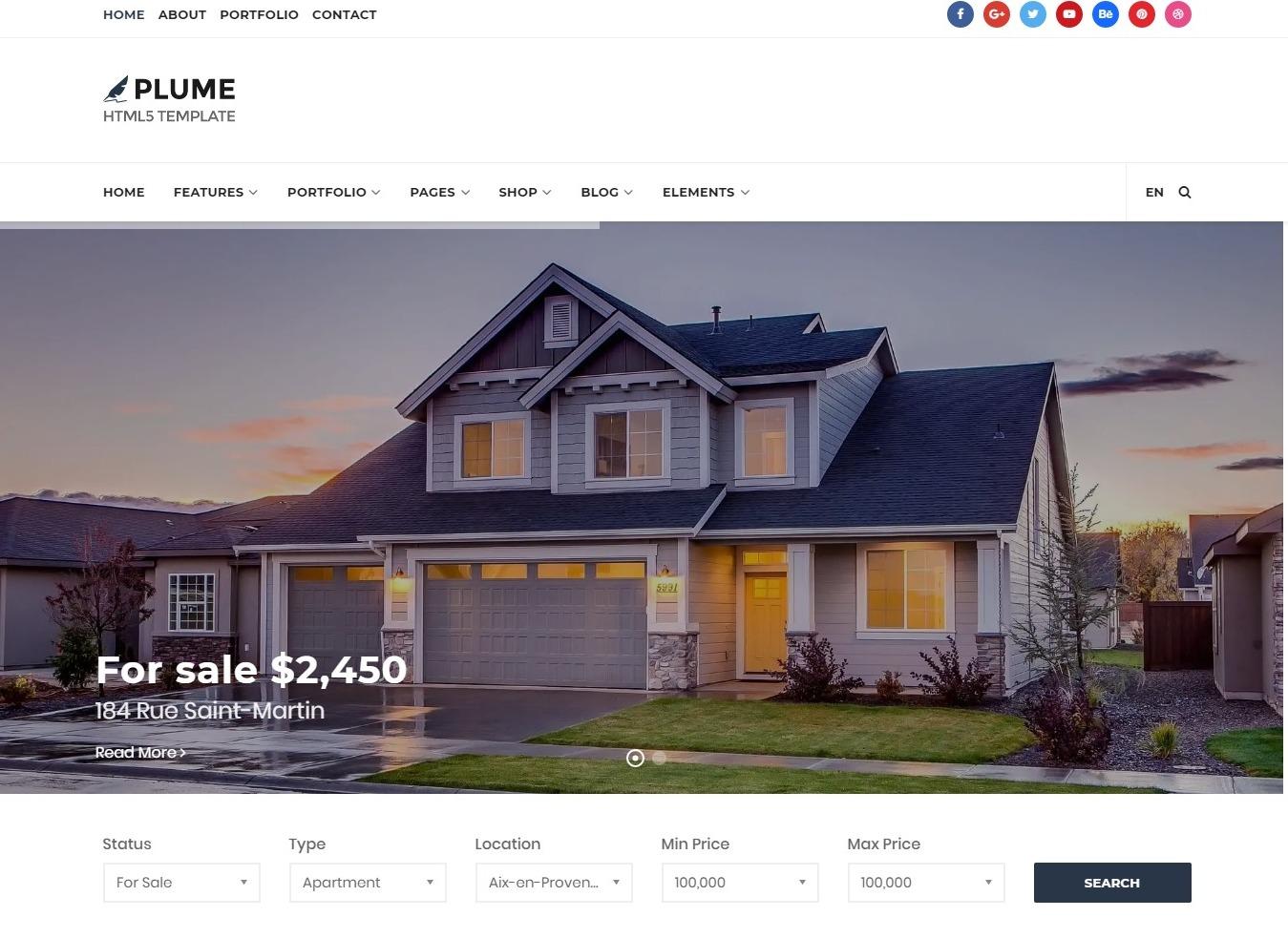 premium-real-estate-website-template-plume