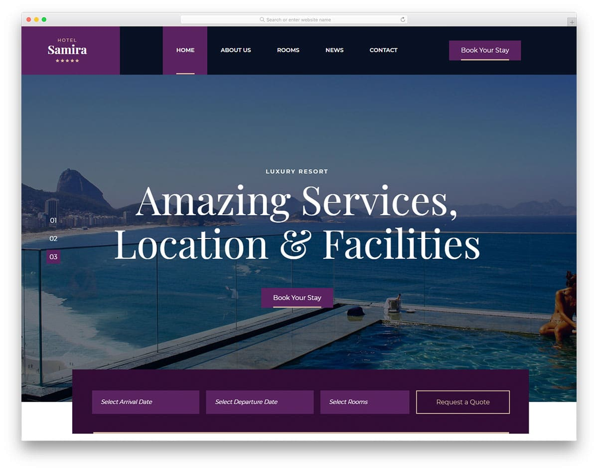 samira-free-bootstrap-hotel-templates