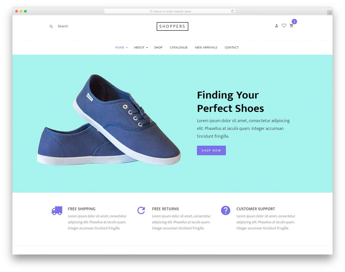 shoppers-free-boutique-website-templates
