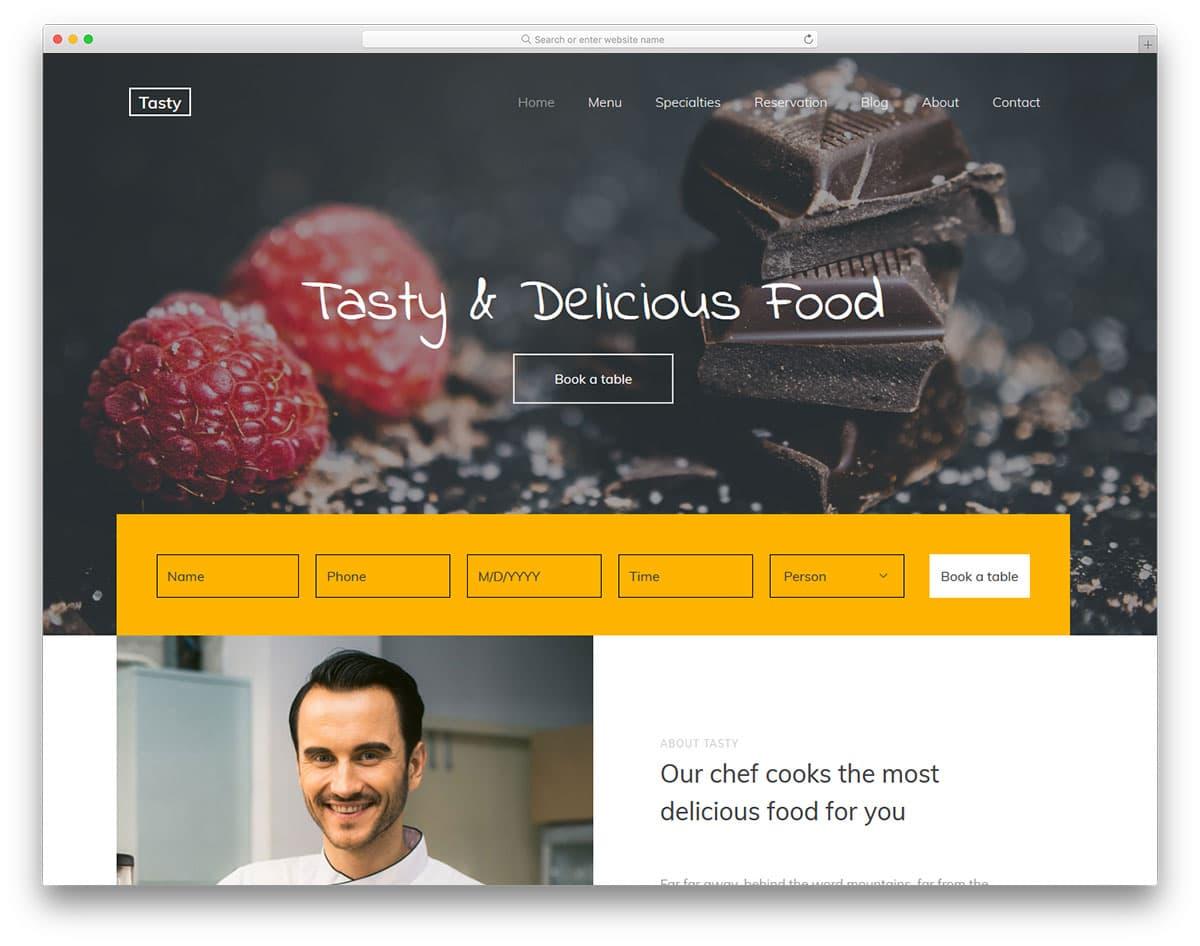 tasty-free-healthcare-website-templates