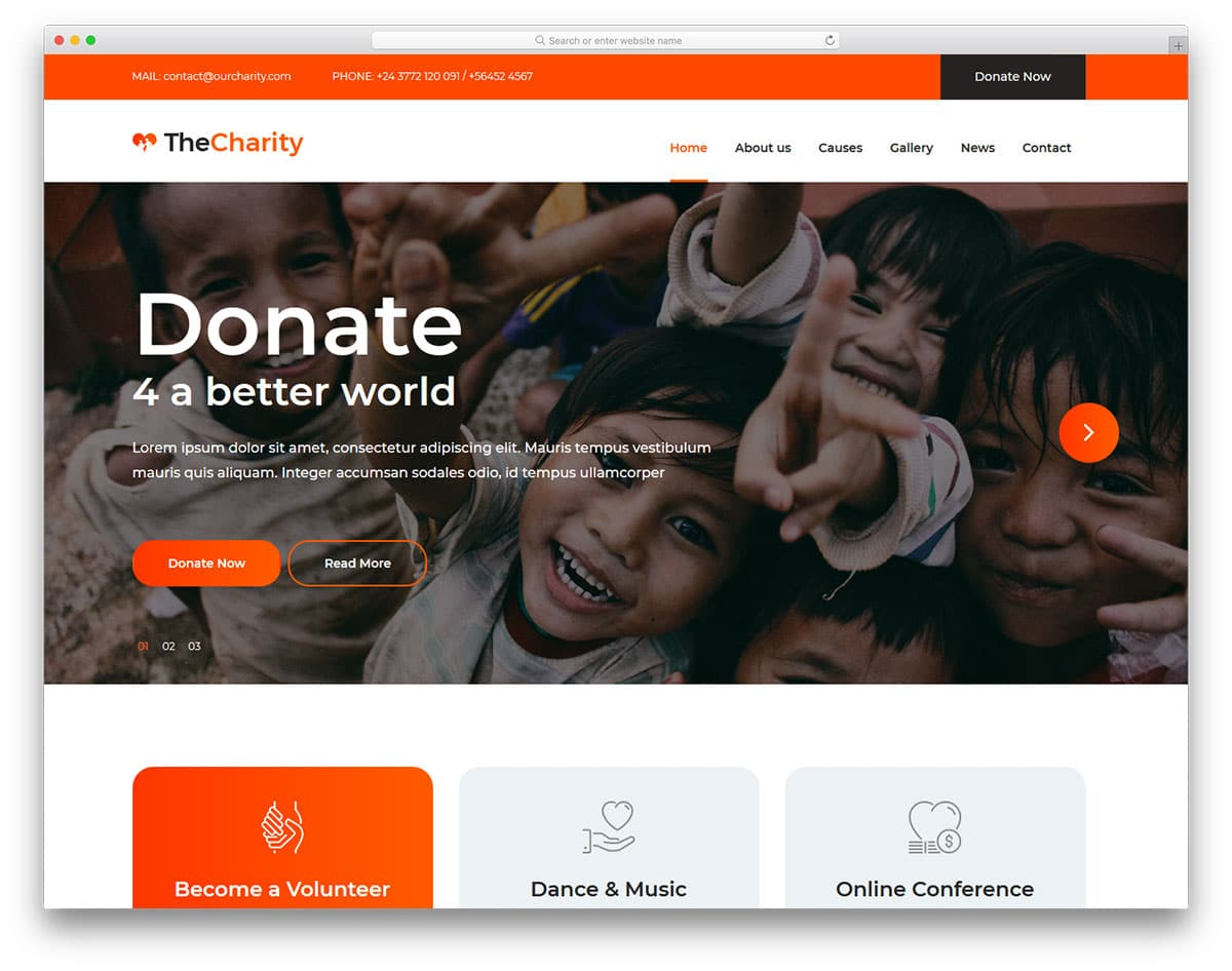thecharity-free-responsive-bootstrap-templates