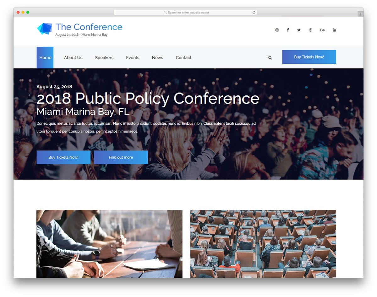 theconference-free-entertainment-website-templates