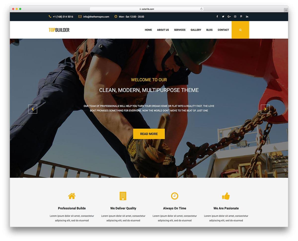topbuilder-free-industrial-website-templates