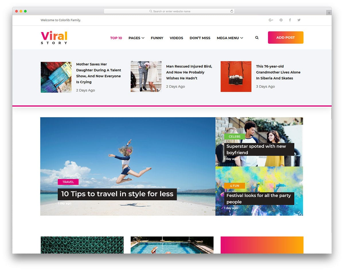 viralstory-free-entertainment-website-templates