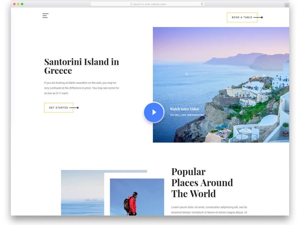 27 Free Web Design Templates With Trendy Design For 2019