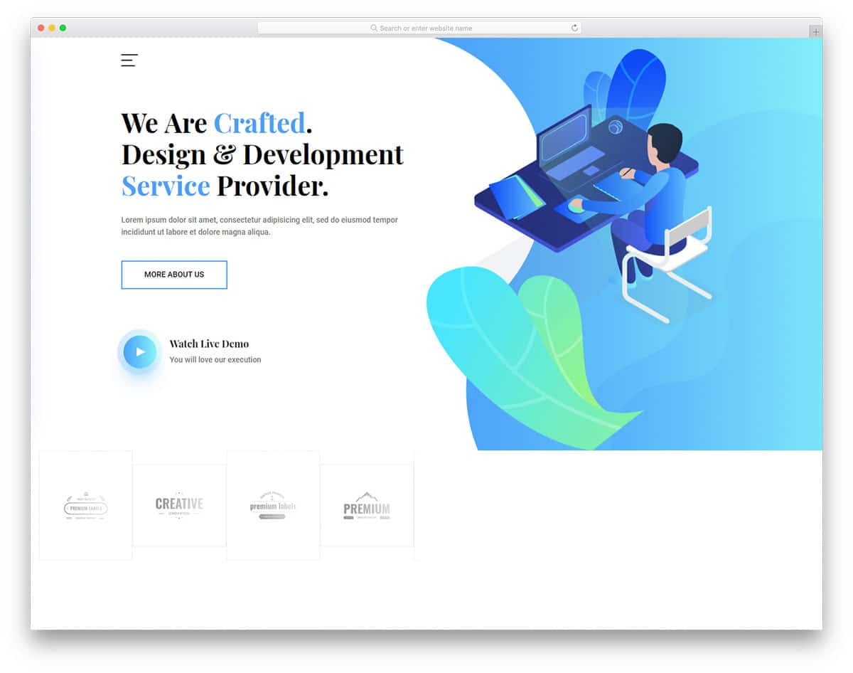 crafted-free-bootstrap-business-templates