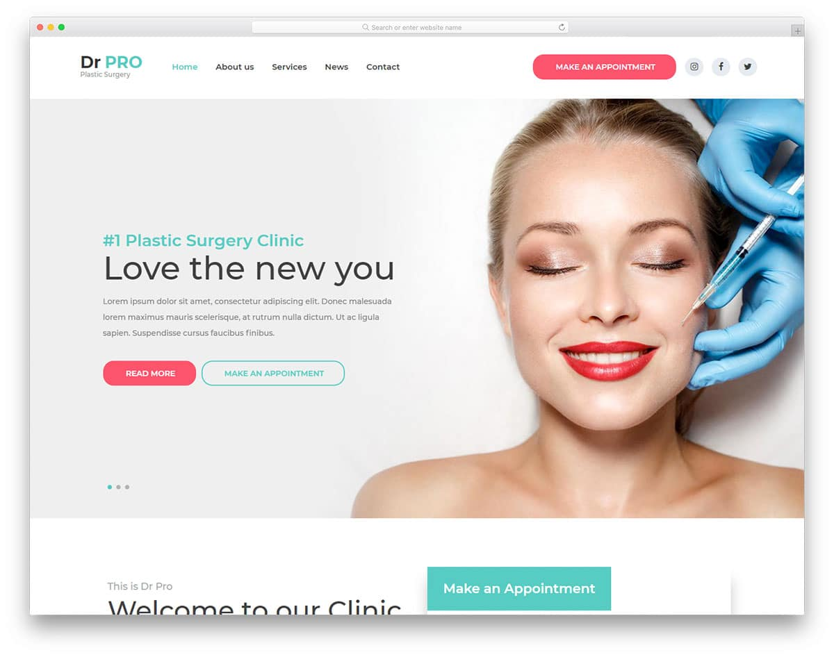 drpro-free-medical-website-templates