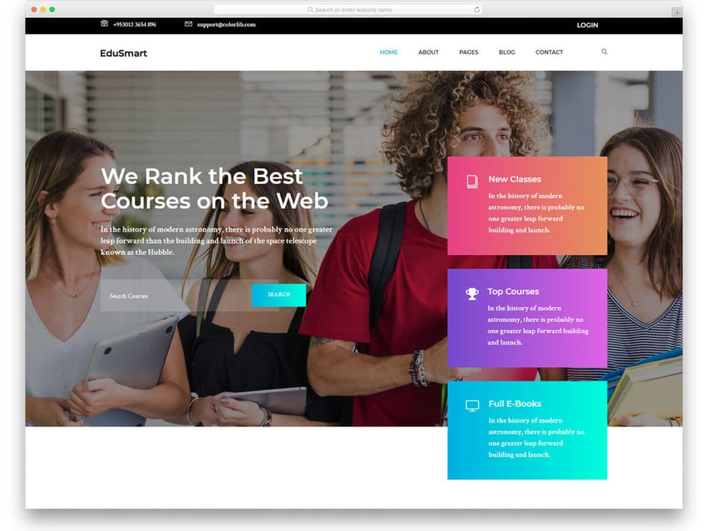 edusmart-free-school-website-templates