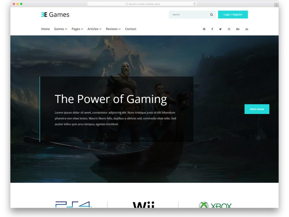 egames-free-gaming-website-templates