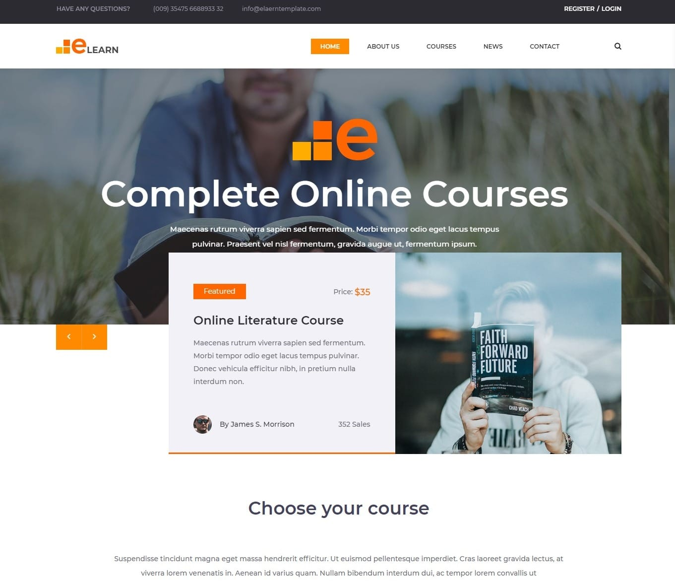 elearn-free-kindergarten-website-template