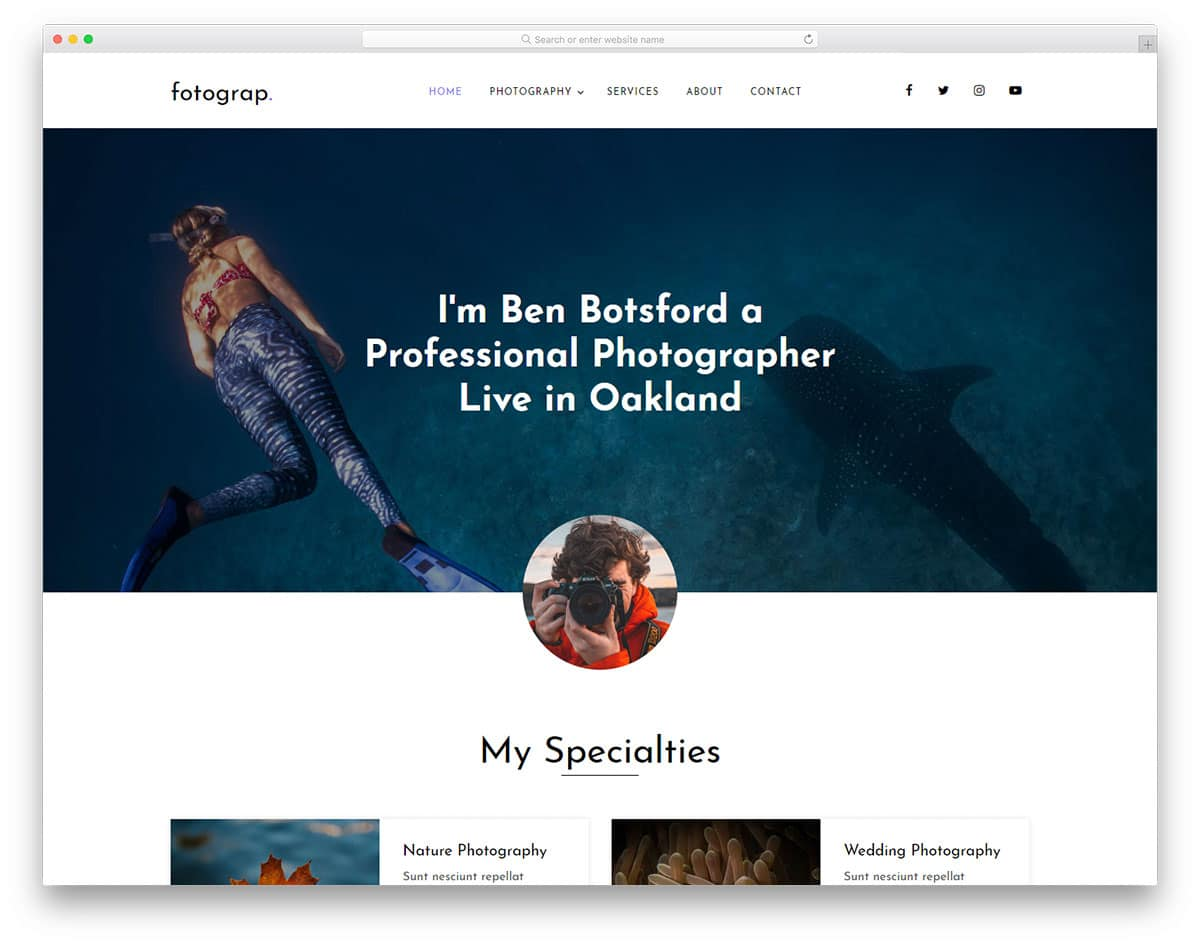 fotograp-free-bootstrap-personal-website-template