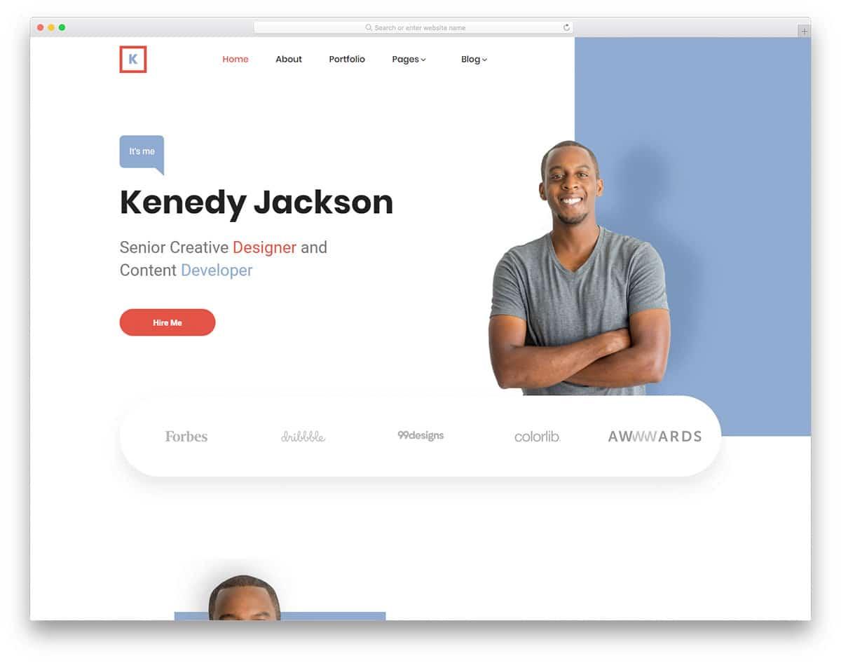 kenedy-free-bootstrap-portfolio-templates