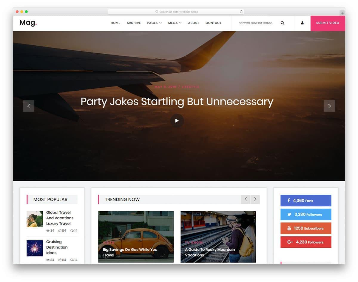 mag-free-news-website-templates