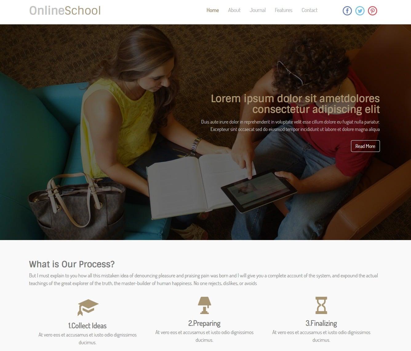 online-school-free-kindergarten-website-template