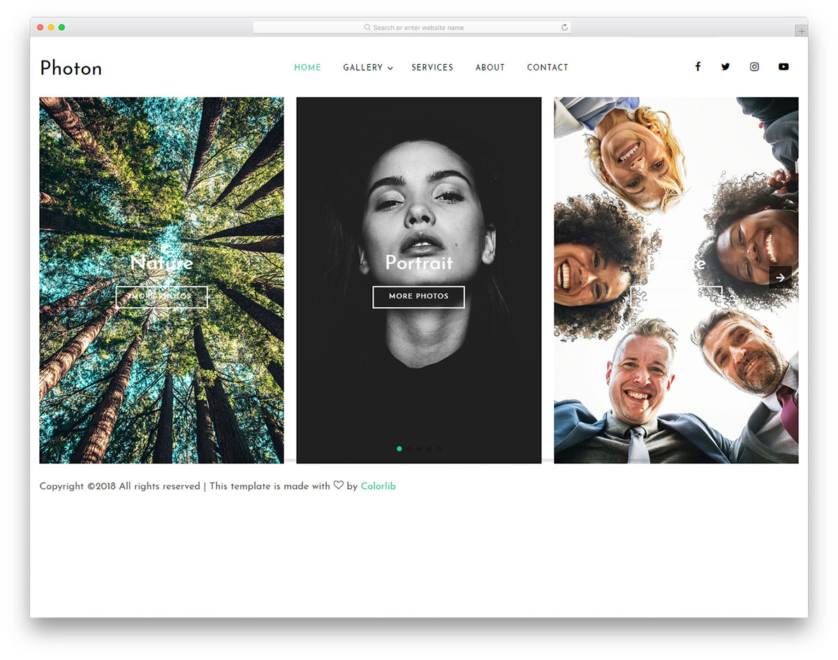 photon-free-simple-website-templates