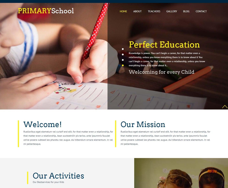 primary-school-free-kindergarten-website-template