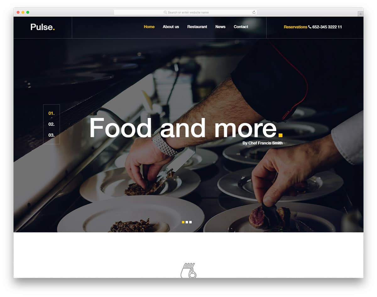 pulse-free-restaurant-website-templates
