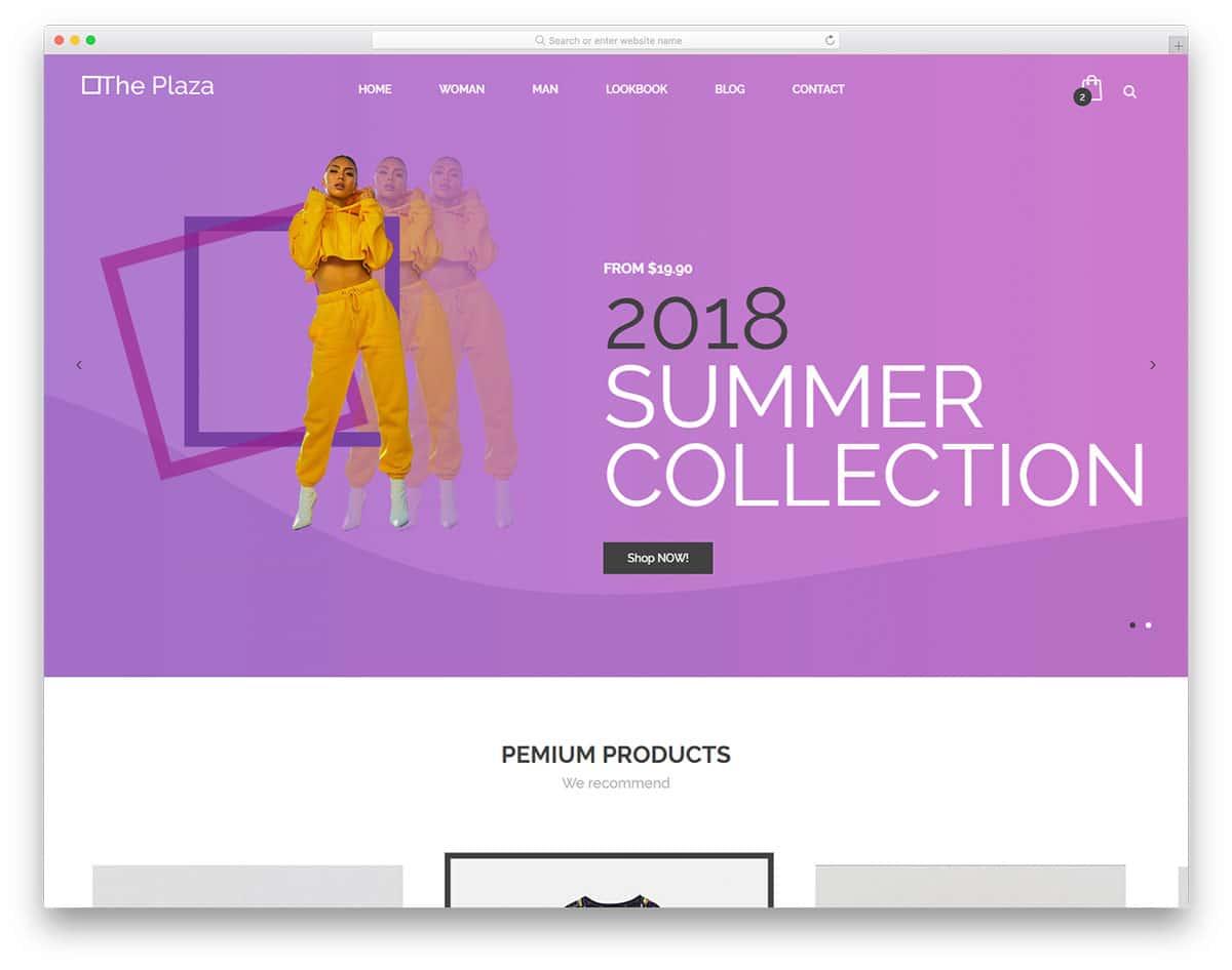 theplaza-free-fashion-website-templates