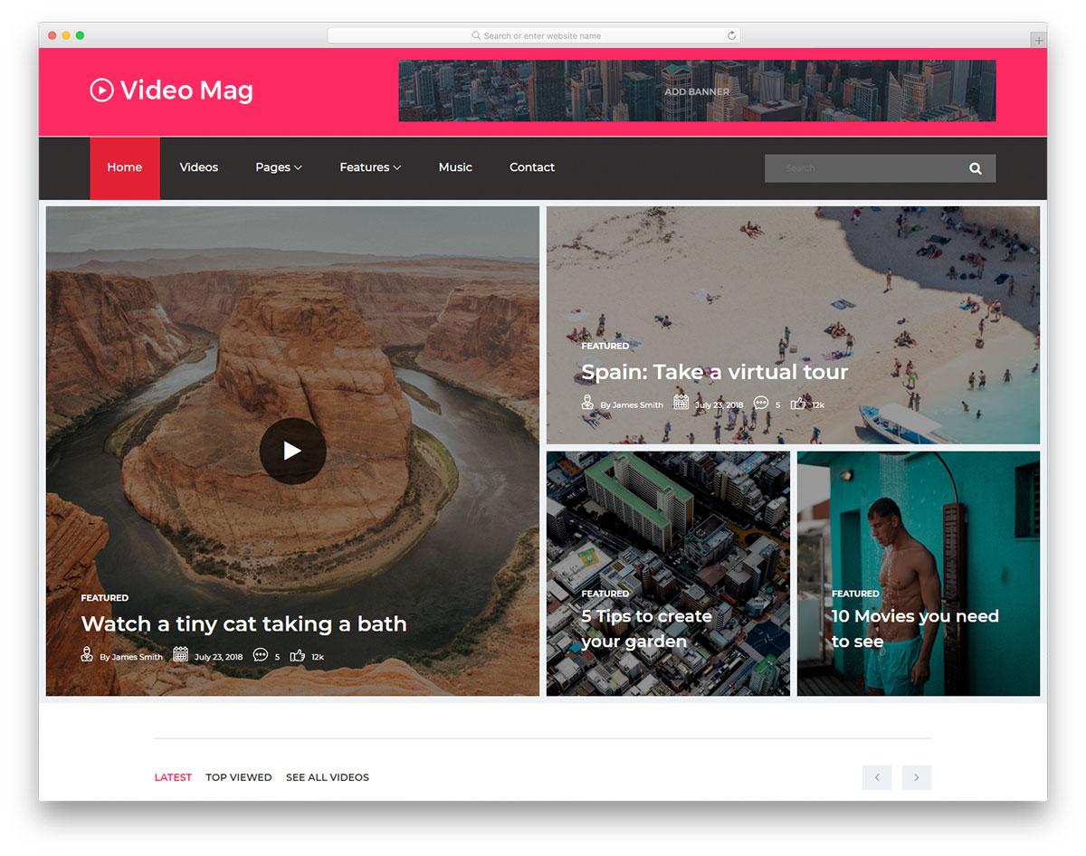 videomag-free-news-website-templates