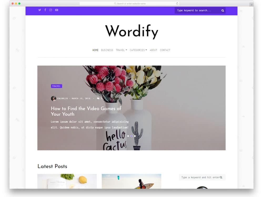 wordify-free-blog-templates