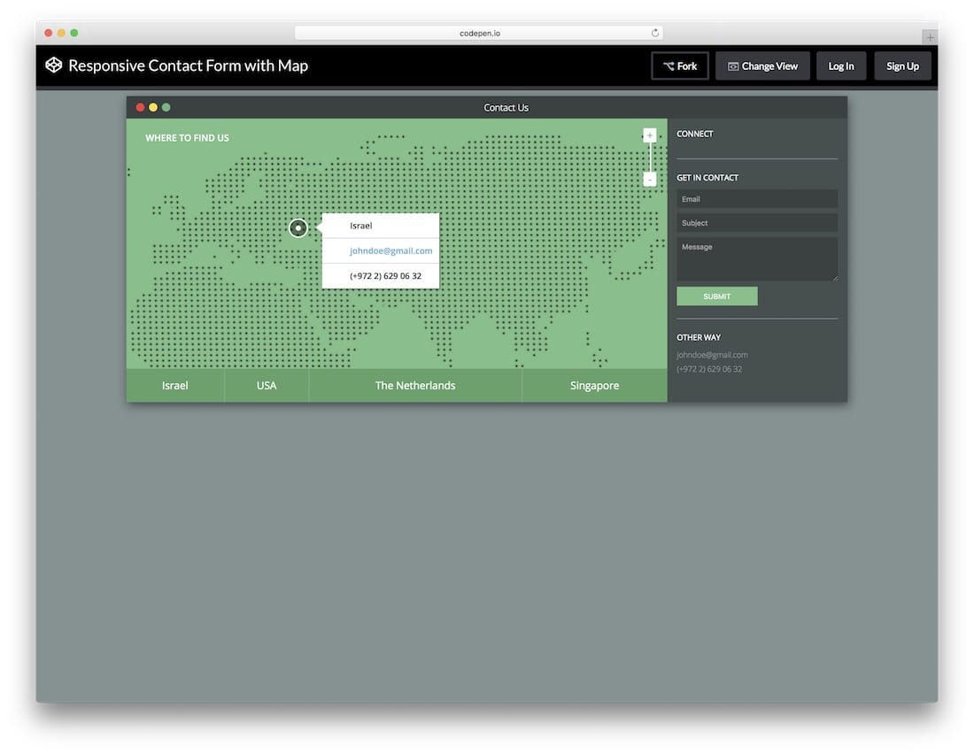 Responsive-Contact-Form-with-Map-template